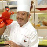 Karlos Arguiñano presenta el programa de cocina de las mañanas de Telecinco