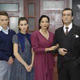 Familia Salvatierra en la sexta temporada de 'Amar en tiempos revueltos'