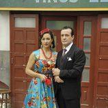 José Luis García-Pérez e Isabel Serrano en 'Amar en tiempos revueltos'