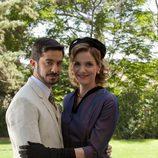 Roberto San Martín y Eva Martín