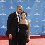 Eva Longoria y Tony Parker en los Emmy