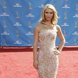 Claire Danes en la alfombra roja de los Emmy