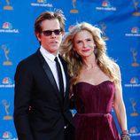 Kevin Bacon y Kyra Sedgwick en los Premios Emmy