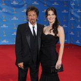 Al Pacino y Lucila Sola en los Emmy