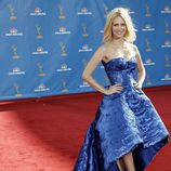 January Jones en la alfombra roja de los Emmy