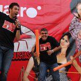 Los presentadores de 'Tonterías las justas' en Astorga
