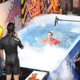 David Bustamante se lanza a la piscina