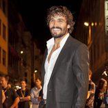 Álex García en la premiere de 'Tierra de lobos' en Vitoria