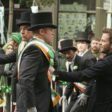 Ian Ziering en un cameo en 'CSI: NY'