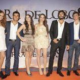 María Castro, Antonio Velázquez, Adriana Torrebejano, Silvia Alonso, Álex García y Junio Valverde