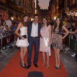 María Castro, Antonio Velázquez y Adriana Torrebejano