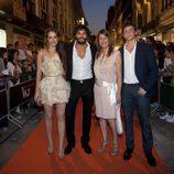 Silvia Alonso, Álex García y Junio Valverde