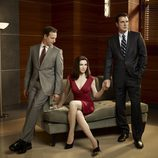 Josh Charles, Julianna Margulies y Chris Noth