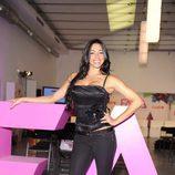 Marbelys Zamora posa para la presentación del programa