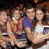 Marta Torné con los fans
