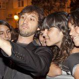 Raúl Fernandez de Pablo con las fans