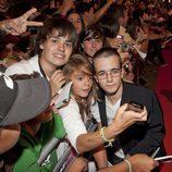 Daniel Retuerta con los fans