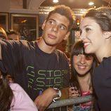 Blanca Suárez con un fan