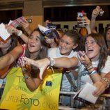 Fans de 'El internado' en Vitoria