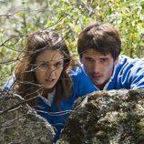 Yon González y Blanca Suárez en 'El internado'