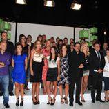 Foto de familia de la temporada 2010-2011 de laSexta