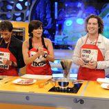 David Bisbal cocina con Silvia Abril