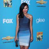 Naya Rivera en la première de 'Glee'