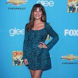 Lea Michele en el preestreno de 'Glee'