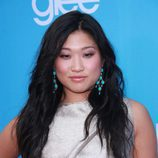 Jenna Ushkowitz en el preestreno de 'Glee'