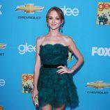Jayma Mays en el preestreno de 'Glee'