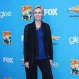 Jane Lynch en la première de 'Glee'