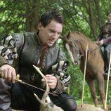 Enrique VIII caza un ciervo