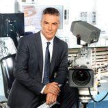 David Cantero en 'Informativos Telecinco'