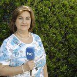 Gloria, la reportera veterana de 'España directo'