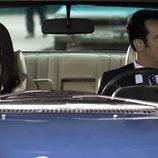 Carmen Martínez-Bordiú y su marido Alfonso en el coche