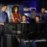 El equipo de 'CSI: Nueva York'