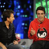 Fernando Alonso, entrevistado por Pablo Motos