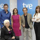 Juanjo Pardo, Gema Hassen-Bey, Mara Torres, Jordi Hurtado y María José Molina