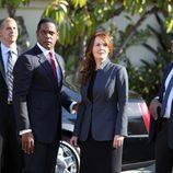 El presidente Martinez con Sophia