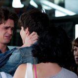 Julio llora en su despedida