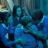 Iván, Amaia y Julia, preocupados por Marcos