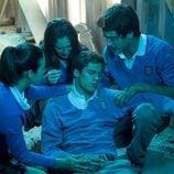 Marcos, Amaia, Iván y Julia en 'Hasta que la muerte nos separe'