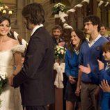 'El internado' aplaude el matrimonio de Fermín y María