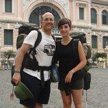 Manolo y Marta son padre e hija en 'Pekín express'
