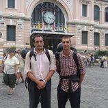Javier e Hilario, profesor y alumno de 'Pekín express'