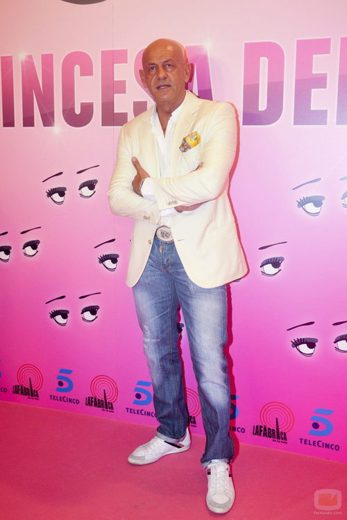Kiko Matamoros en el estreno de 'La princesa del pueblo'