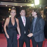 Belén Esteban, su marido Fran Álvarez y su manager Toño Sanchís