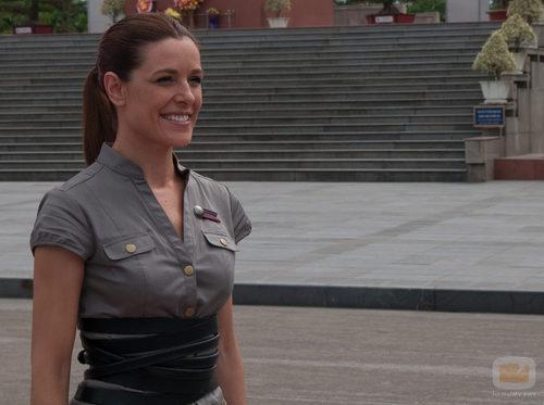 Raquel Sánchez Silva, en 'Pekín express'