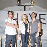 Eric Balfour, Emily Rose y Lucas Bryant de 'Haven'