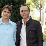 Celia Castro y Juan Ribó
